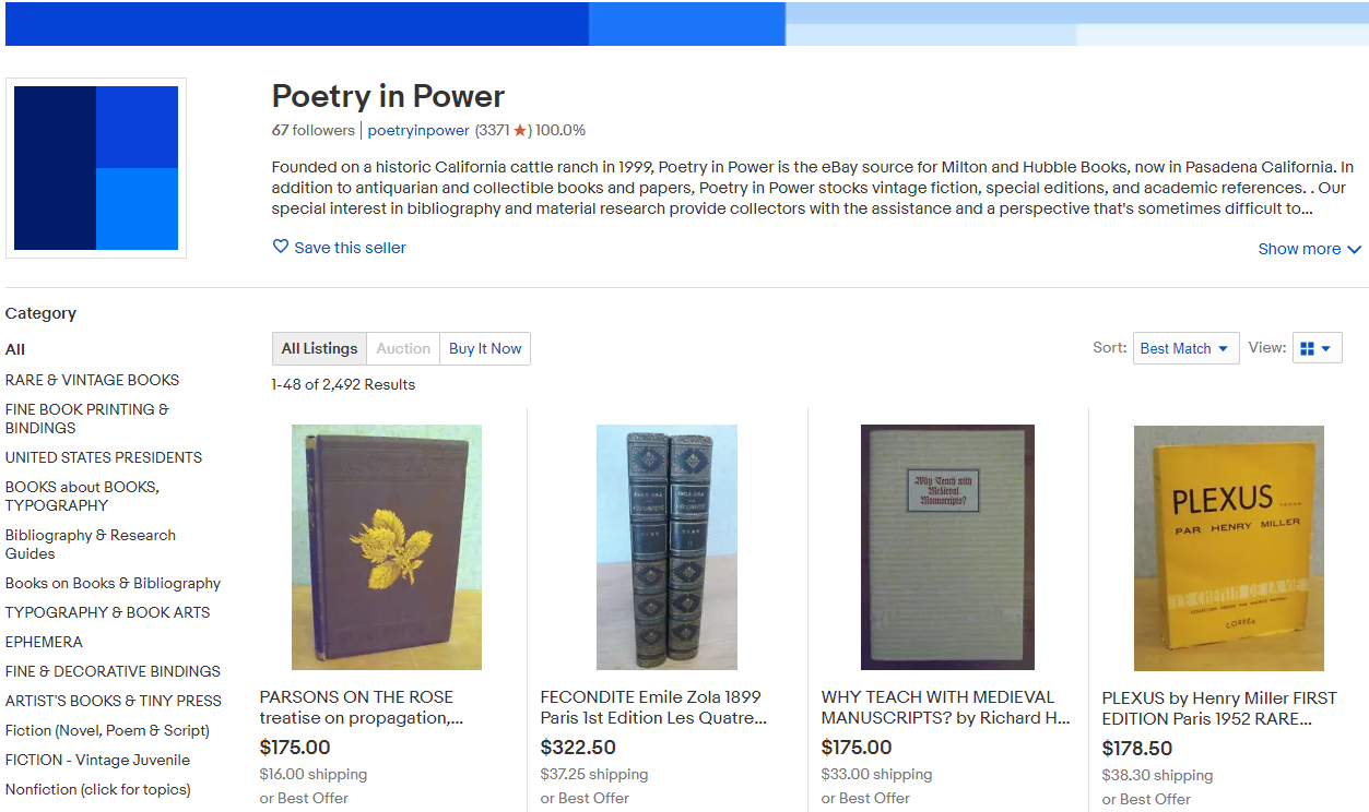 Poetryinpower Storefront