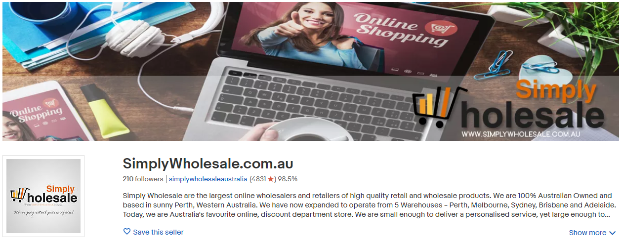 Simplywholesale Storefront